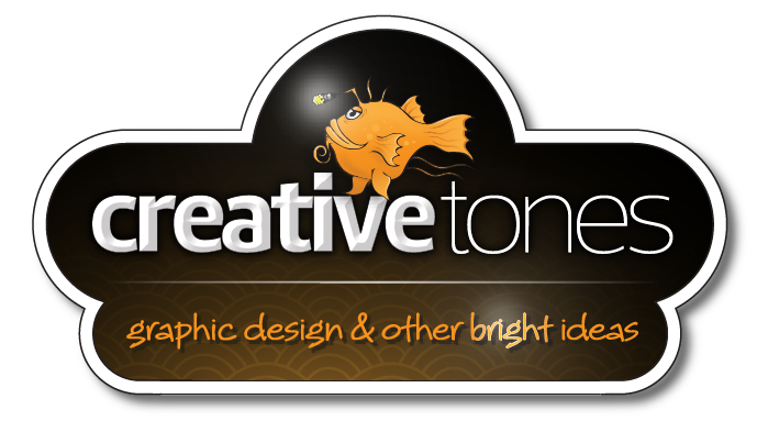 Logo for CreativeTones Graphic Design
